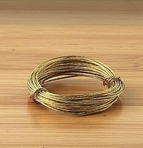 Picture Wire Brass 3.5m (Pack of 2)(KTPPWB02) by KTrade Pack