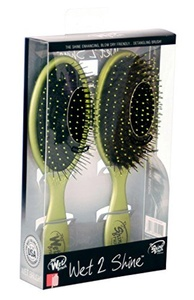 My Wet Brush Plus Shine Brush Styling Kit, Lime Light, 9.6 Ounce by The Wet Brush