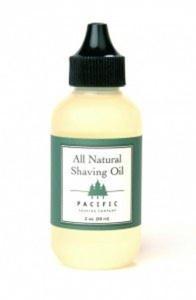 Pacific Shaving Company Natural Shaving Oil - 0.5 oz.