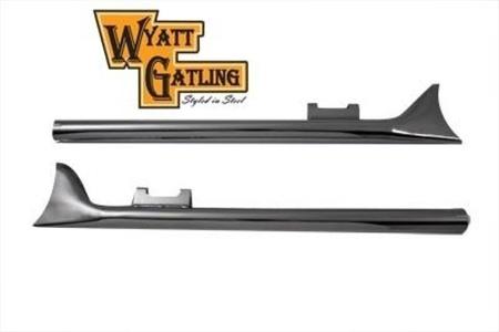 New Wyatt Gatling 33 Straight Fishtail Muffler Set exhaust harley davidson flht by V-Twin