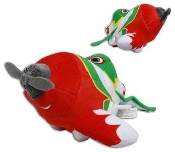 El Chupacabra 10'' Mexican Race Plane Plush Soft Toy Pixar Disney Planes Doll by Play by Play