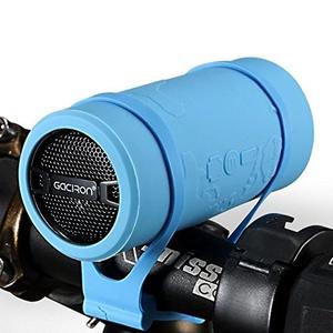 Mini Speaker Waterproof Bluetooth Wireless Speaker Portable for Bike Blue