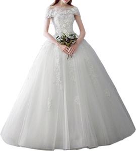 MILANO BRIDE Romantic Bridal Wedding Dress Ball Gown Strapless Tulle Applique -18W-Light Ivory