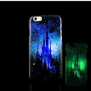 iPhone 7 Case, Glow in the Dark Fun Pattern TomCase Fluorescent Back Cover for iPhone 7 Case 4.7 inch, P14