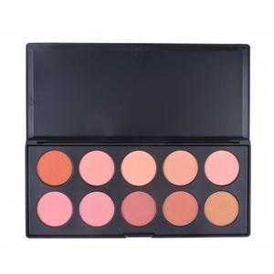 Maùve Professional Blush 10 Color Blush Palette MU03