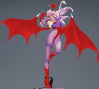 Street Fighter Vampire Savior Morrigan 1/6 Scale PVC Figure by Street Fighter