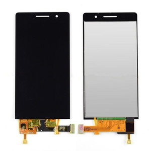 Black New Touch Screen+LCD Display Replace Assembly For Huawei Ascend P6 Parts