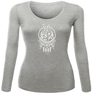 Steampunk_1852 Printed For Ladies Womens Long Sleeves