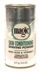 Magic Platinum Shaving Powder 133 ml Skin Conditioneritioning (3-Pack) by Magic