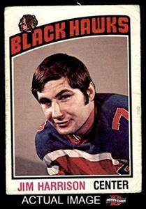 1976 O-Pee-Chee NHL # 183 Jim Harrison Chicago Blackhawks (Hockey Card) Dean's Cards 2 - GOOD