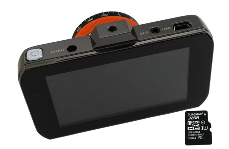 Car Camera L06 HD 1080P 3.0 TFT LCD DVR GoldFish Dash Cam Video Recorder 140 Wide Angle G Sensor Park Monitor 32GB Card