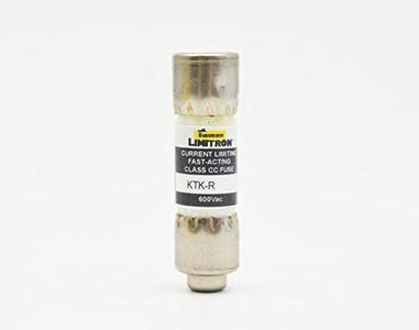 Cooper Bussmann Brand KTK-R-1/8 ( KTK-R-0.125) 0.125 Amp 600V Fast-Acting Fuses New