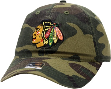 Chicago Blackhawks Women's Hat Buckle Back Slouch Camouflage 12519