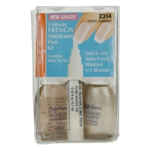 Sally Hansen 5 Minute French Manicure Pen Kit - Sheer Shimmer (2314) by Sally Hansen 5 Minute French Manicure Pen Kit - Sheer Shimmer (2314)