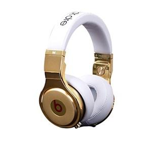 PRO Better Sound Noise Isolation Wired Over-Ear Headphones, 24K White