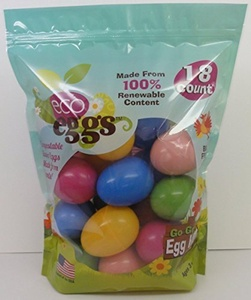 Eco Friendly Easter Eggs - 18 Count by Eco Egg