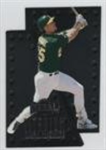 Mark McGwire (Baseball Card) 1997 Skybox Metal Universe Titanium #6