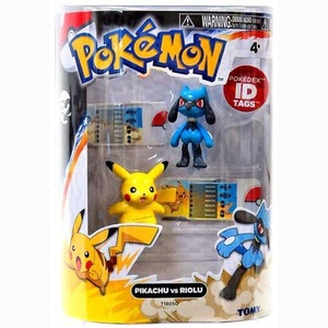 Pokemon Series 2 Pikachu vs Riolu Action Figure 2-Pack by Pokemon Black & White Toys & Action Figures