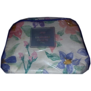 1989 Avon Wildflower Costmetic Bag