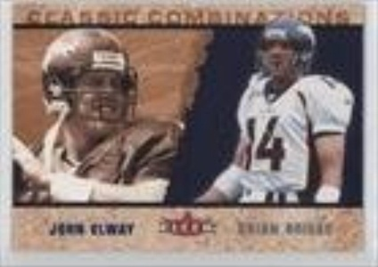 John Elway; Brian Griese #4/1,000 (Football Card) 2002 Fleer Tradition Classic Combinations #20 CC