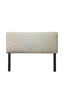Sole Designs Alice Collection Padded Suzani Series Cloud Adjustable Headboard, California King, Natural