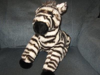 12 Plush Animal Planet Zebra Doll Toy By Kohls by Animal Planet