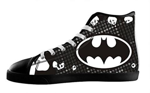 Custom Batman Individualized Design High Top Lace Up Canvas For Men's Shoes-12M(US)