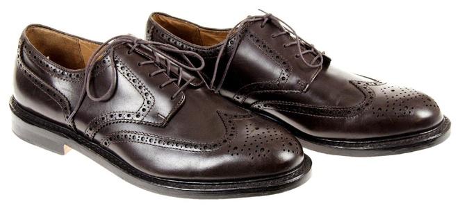 Alden For J Crew Longwing Bluchers Size 9 Style# 97572 Dark Brown Def