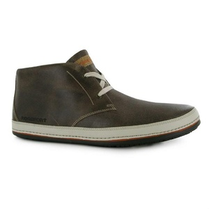 Mens Rockport Harbor Chukka Boots Shoes Chocolate Brown (UK 7 / US 7.5)