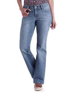 7 For All Mankind Women's W09081 A PKT BootCut Wide Leg Denim Jeans 32 X 32
