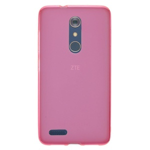 ZTE ZMax Pro Case, IECUMIE TPU Armor Slim Fit Protective Cover Case for ZTE ZMax Pro, Z981 - Pink (Package include an IECUMIE Stylus Pen)