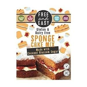 Free & Easy Sponge Cake Mix With Coconut Blossom Sugar 350g