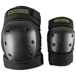 Harsh PRO PARK Knee & Elbow Combo Protection (MEDIUM) by Harsh Protective Gear