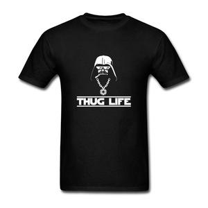 ZhiBo Men's Funny Novelty Creative Hip Hop Helmet Life Customs T-shirt Black XXX-Large Man