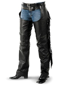 Interstate Leather Women's Fringe Chap (Medium) by Interstate Leather