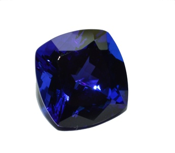 Tanzanite natural, facet cut & clean gemstone 11.469 carat with DEGEB Value Certificate 15660.- € value
