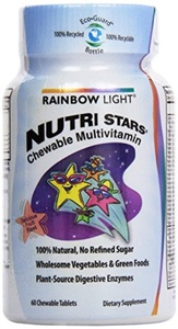 Rainbow Light Nutristars Fruit Blast, 60 ct by Rainbow Light