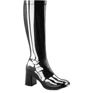 Women's Funtasma GOGO300XRAY Knee High Gogo Boot Black 8