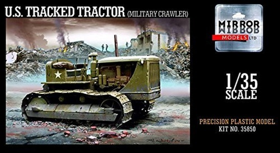 Mirror Models 1:35 - D7 7M Tractor (Military Variant) - (MRR35850) by Mirror Models