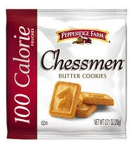 Pepperidge Farm 100 Calorie Cookies, Chessmen, 0.71-ounce pouches (pack of 100) by Pepperidge Farm