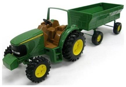 JD 8 Tractor/Wagon by Tomy International