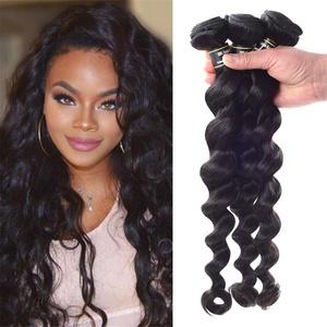 Star Show Hair Malaysian Virgin Hair Loose Wave 3 Bundles Malaysian Loose Wave Hair Extensions 100% Unprocessed Human Hair Weave Natural Color (100+/-5g)/bundle (24 26 28 inch)