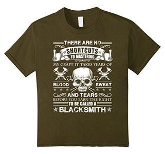 Kids Blacksmith Shirt - To Be Called A Blacksmith T shirt 8 Olive