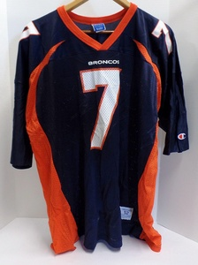 Original John Elway Football Jersey from the 1990's Made by Champion - Adult Size 52 / XXL in Very Good Condition for Age (Free Shipping & Tracking)