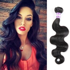 Hotbaby Hair Brazilian Body Wave 3 Bundles Unprocessed Virgin Brazilian Hair Natural Color Human Hair Weave Body Wave Hair