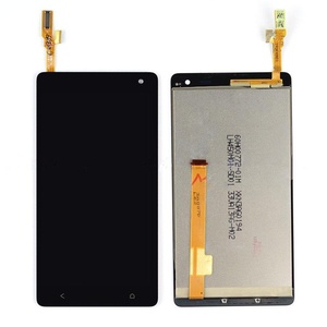 New Black HTC Desire 600 LCD Display w/ Touch Screen Digitizer Lens Assembly
