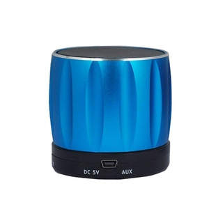 Classic Portable Wireless Bluetooth Speaker, Powerful Sound with Enhanced Bass, and Built-in Mic, works with iPhone, iPad, Samsung, Nexus, HTC, Laptops and More (Blue)