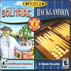 Brand New Encore Software Hoyle Backgammon & Hoyle South Beach Solitaire 2 Game Pack Popular by Encore
