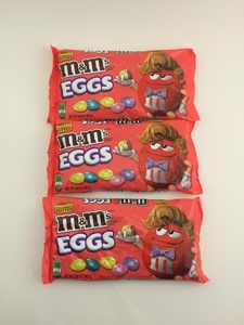 3 -Pack of 9.9-Ounce M&Ms Easter Peanut Butter Speck-Tacular Eggs Chocolate Candies