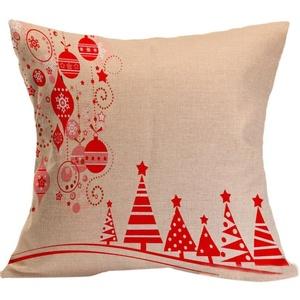 Iuhan® Fashion Christmas Pillow Case Sofa Waist Throw Cushion Cover Home Decor (D)